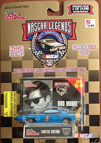 Nascar Legends 50Th Anniversary Bud Moore Issue No 44 By Racing Champions