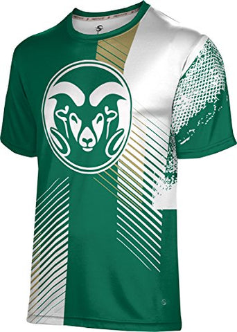 Prosphere Colorado State University Boys' T-Shirt - Hustle F8C93 (Medium)