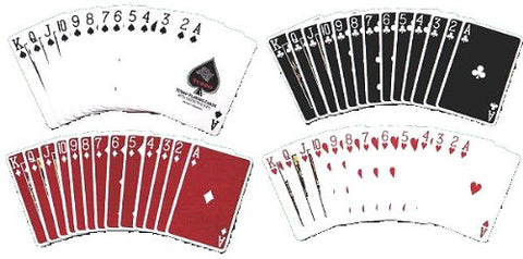 100% Plastic Playing Cards Turbo Deck Setup In Plastic Case