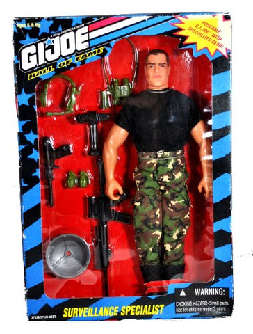 12 G I Joe Hall Of Fame Action Figure - Surveillance Specialist - 1995 Hasbro