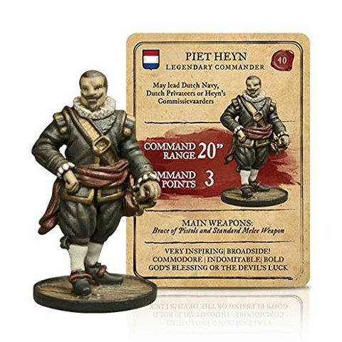 Blood &Amp; Plunder - Dutch 28Mm Piet Heyn