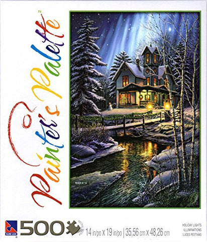 Holiday Lights By James Meger 500 Piece Puzzle