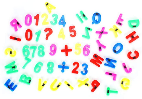 Lontg Magnetic Letters Numbers Educating Kids In Fun Educational Alphabet Refrigerator Magnets