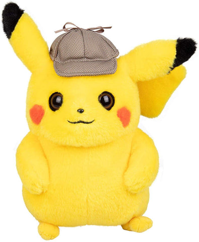 Teresa Pokmon Big Detective With Pikachu Plush Toy Cute Doll