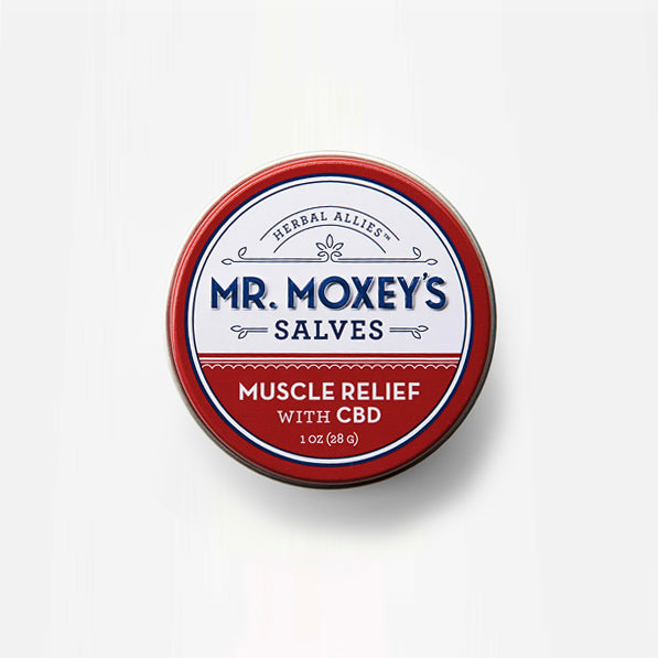Mr  Moxey's MUSCLE RELIEF CBD Salve