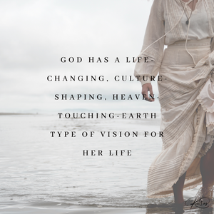 What type of prophetic vision does God have for me?
