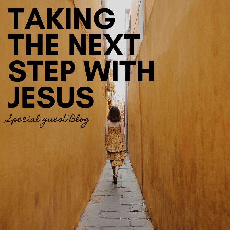Taking the next step with Jesus (Special guest - Melissa Tsingano)