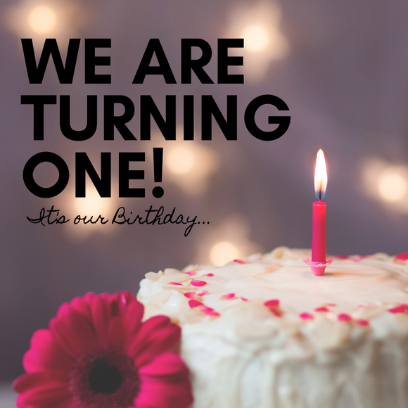 We are turning ONE!
