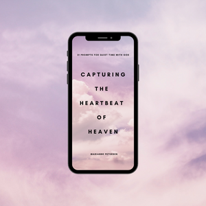 Digital Download - Capturing the Heartbeat of Heaven Prompts Journal
