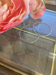 'Eternity' Hoop Earrings
