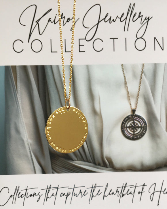 SALE - Medallion Necklace