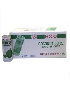Foco - Coconut Juice - 24/17.6 oz cans
