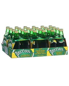 Perrier - Sparkling Mineral Water - 24/11 oz glass bottles