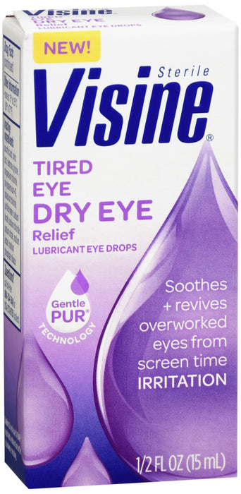 VISINE TIRED DRY EYE DROP 0.5OZ
