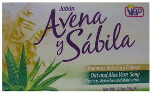 MBP SOAP OAT & ALOE  75gr