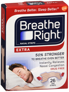 BREATHE RIGHT EXTRA 26CT