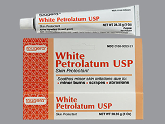 PETROLATUM WHITE 1OZ FOUGERA