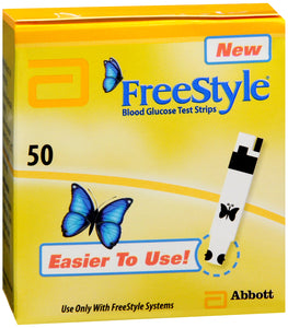 FREESTYLE TEST STRIP 50CT
