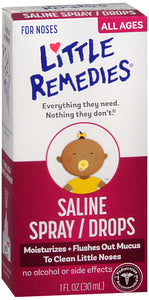 LITTLE NOSES SALINE SPRAY DROP 30ML