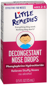 LITTLE NOSES DECONGESTANT DROP 0.5OZ