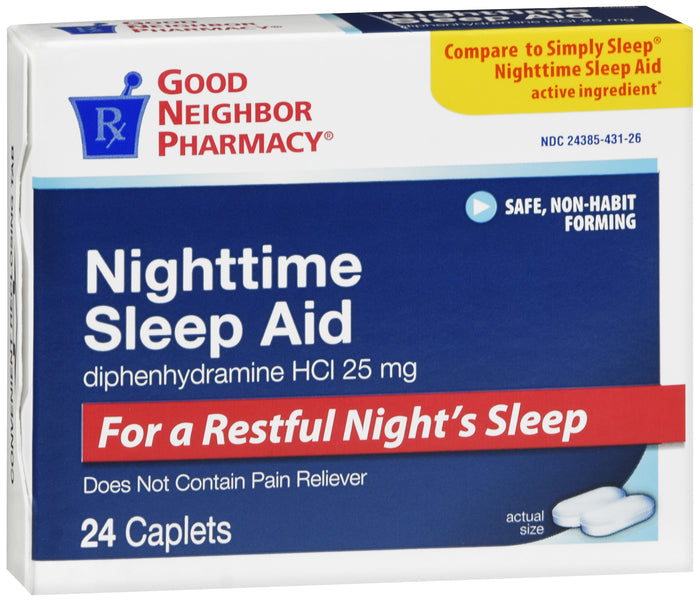 GNP SLEEP AID NGHT TIME CPL 24