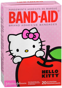 BAND AID KIDS HELLO KITTY ASST 20CT