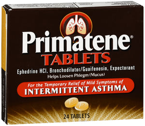 PRIMATENE TABLET 24CT