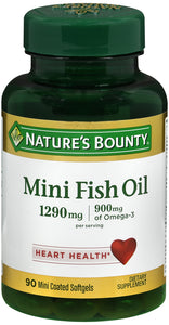 FISH OIL MINI SOFTGEL 90CT NAT BOUNTY