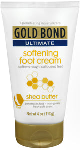 GOLD BOND ULTIMATE CREAM SOFT FOOT 4OZ