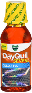 DAYQUIL SEVERE LIQUID 8OZ