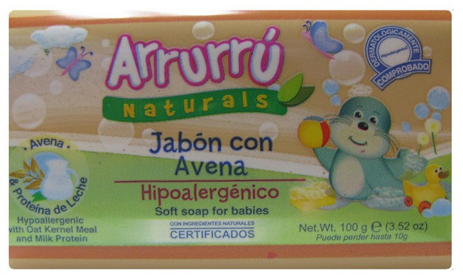 ARRURU SOAP OAT FOR BABIES 100g
