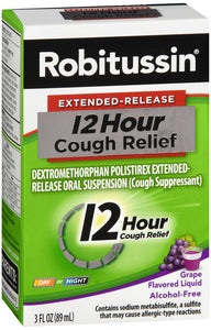 ROBITUSSIN 12HR COUGH RELIEF GRAPE 3OZ