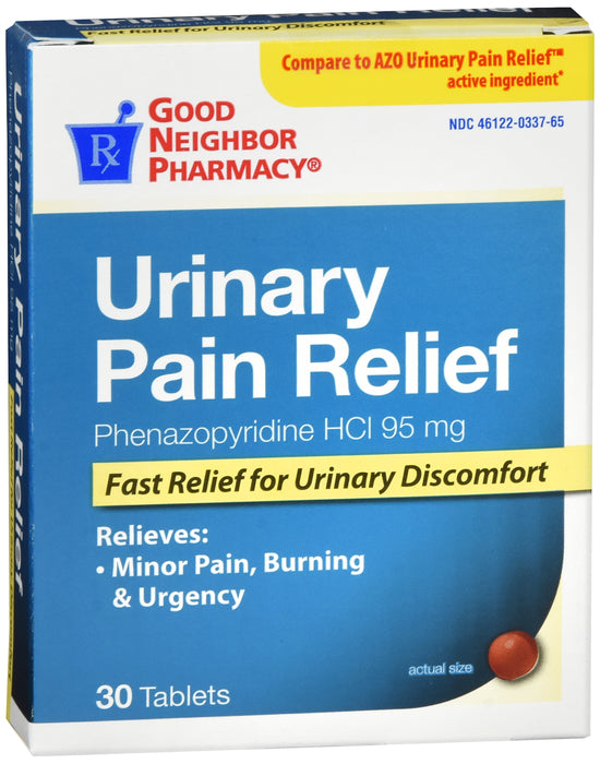 GNP URINARY PAIN RELIEF 30CT