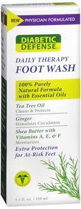 DIABETIC DEF DAILY FOOT WASH 150ML DS