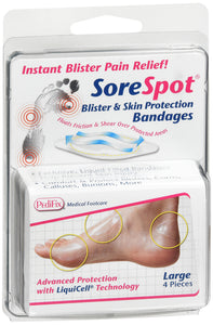 PEDIFIX SORESPOT BLISTER SKIN BNDG L DS