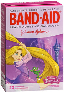 BAND AID DISNEY PRINCESS ASST BDG 20CT