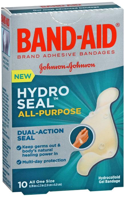 BAND AID HYDRO SEAL ALL PURPOSE BDG 10CT