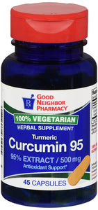 GNP CURCUMIN EXTRACT 95% 500MG CAP 45CT