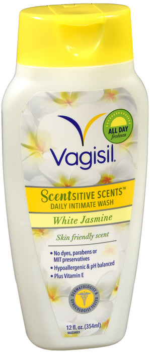 VAGISIL DAILY INT WSH WHITE JASMINE 12OZ
