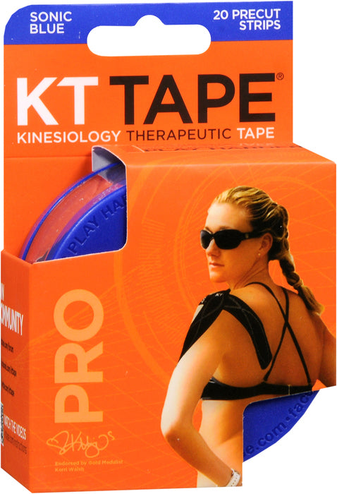 KT TAPE SYNTHETIC PRO BLUE 20CT