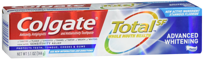 COLGATE TOTAL ADVANCED WHT T/P 5.1 OZ