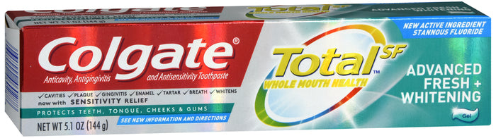 COLGATE TOTAL ADV FRESH GEL TP 5.1OZ CS