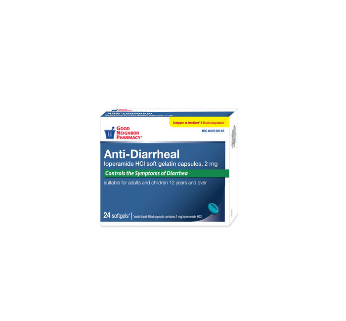 GNP ANTI DIARRHEAL 2MG SOFTGEL 24CT