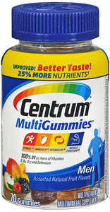 CENTRUM MEN MULTI GMY 70CT