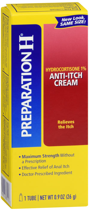 PREPARATION H HYDROCORTISONE 1% 0.9 OZ
