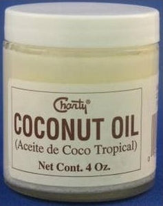 CHANTY SOLID COCONUT OIL JAR 4oz