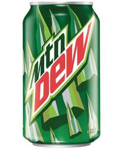Mountain Dew Cube - 36/12 oz cans