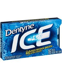 Dentyne Ice - Ice Peppermint - 16 Pc
