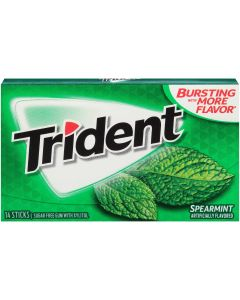 Trident - Spearmint Gum - 14 Pc