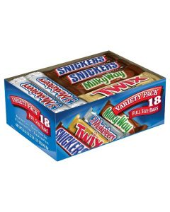 Mars - Full Size Variety Pack - 18ct